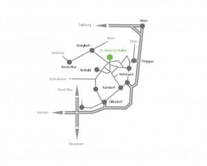 Lageplan St. Jakob